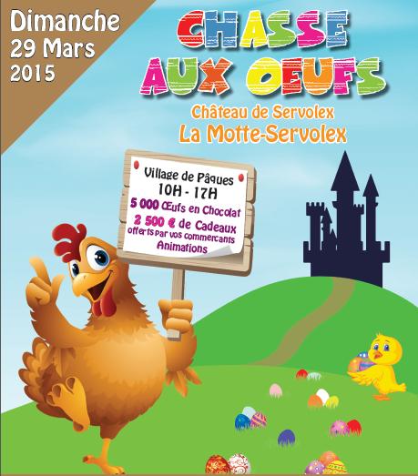 Chasse aux oeufs – Dimanche 29 Mars 2015
