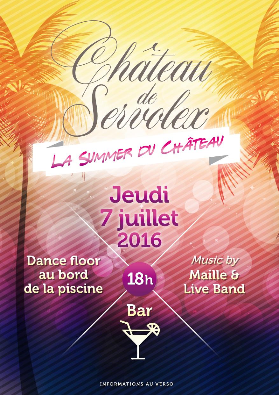 La Summer du Château-Jeudi 7 juillet 2016