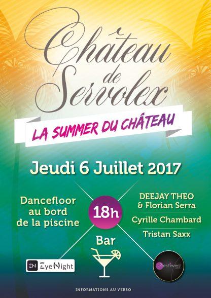 La Summer du Château- Jeudi 6 juillet 2017