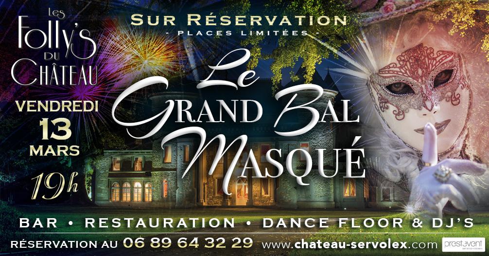 Les Folly'S du Château-Le Grand Bal Masqué-